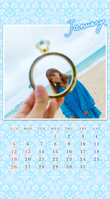 【FC】1月のカレンダー更新!