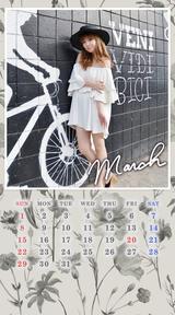 【FC】3月のカレンダー更新!