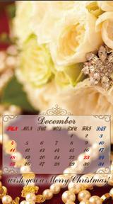 待受カレンダー 2011年12月