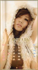 待受カレンダー 2013年1月