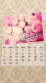 待受カレンダー 2013年12月